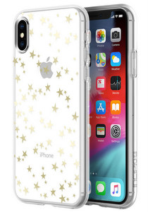 Incipio - Design Classic Case for Apple iPhone Xs / X - Stars