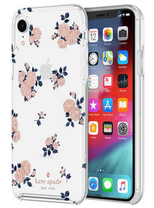Kate Spade - Hardshell Case for Apple iPhone XR - Happy Rose