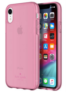Kate Spade - Flexible Case for Apple iPhone XR - Pink