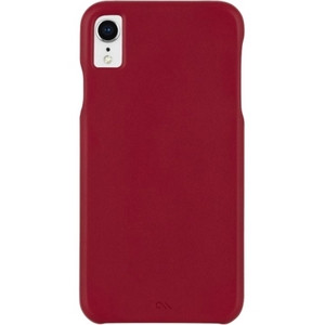 Case-Mate Barely There Leather Case iPhone XR Cardinal