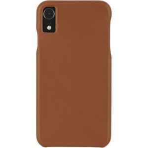 Case-Mate Barely There Leather Case iPhone XR Butterscotch