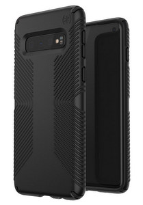 Speck - Presidio Grip Case for Samsung Galaxy S10 - Black