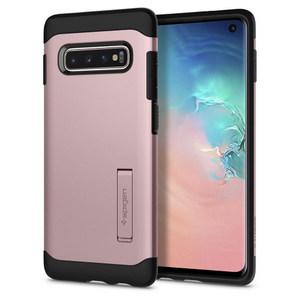 Spigen - Slim Armor Case for Samsung Galaxy S10 - Rose Gold
