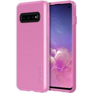 Incipio Technologies DualPro Case Samsung Galaxy S10 Clear/Fuchsia Pink