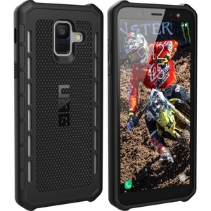 URBAN ARMOR GEAR Galaxy A6 (2018) Outback Feather-Light Rugged [Black] Military Drop Tested Phone Case