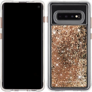 Case-Mate Waterfall Samsung Galaxy S10 in Gold