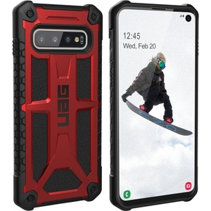 URBAN ARMOR GEAR Monarch Case for Samsung Galaxy S10 Crimson