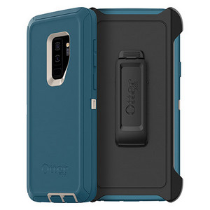 OtterBox Defender Series Screenless Edition Case w/Belt Clip for Galaxy S9+ Big Sur