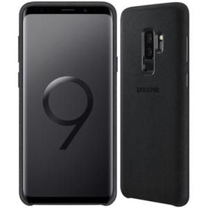 Samsung Alcantara Cover for Samsung GS9+ in Black