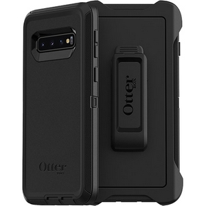 OtterBox Defender Screenless Edition Case w/Belt Clip For Samsung Galaxy S10 Plus Black