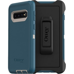 OtterBox Defender Screenless Edition Case w/Belt Clip For Samsung Galaxy S10 Plus Big Sur