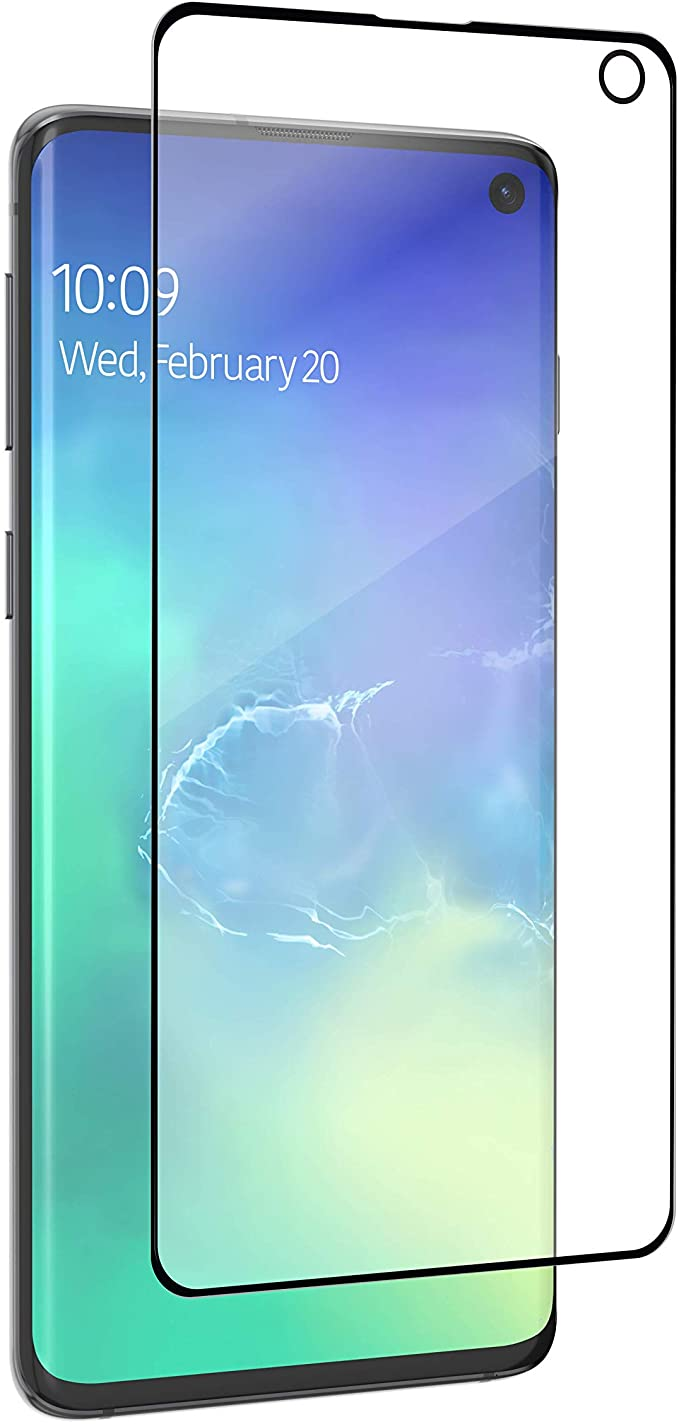 Premium Ultra FITTED Samsung Galaxy S10 Plus |Curved Edgeless Tempered Glass Screen Protector