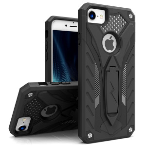 Zizo Static Series Case Military Grade Drop Tested with Built in Kickstand (Black)