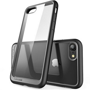 Supcase Unicorn Beetle Style Rugged Case w/Built In Screen Protector  (Black)