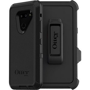 OtterBox DEFENDER Rugged Screenless Edition Case w/Belt Clip For LG G8 thinQ (Black)