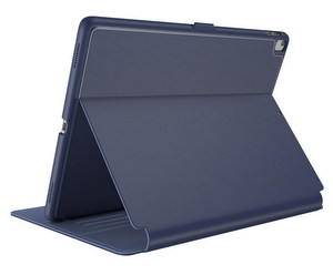 Speck - Balance Folio with Sleep / Wake Magnet - Marine Blue and Twilight Blue