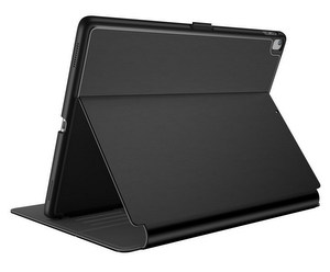 Speck - Balance Folio with Sleep / Wake Magnet - Black and Slate Gray