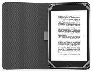 PureGear - Universal Folio for Most 8.9 to 10.5 Inch Tablets - Black