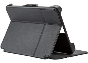 Speck - StyleFolio Flex Case fits most 9 to 10.5 Inch Tablets - Black and Slate Gray
