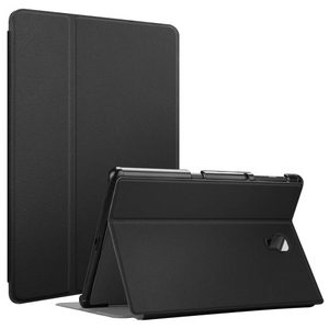 ECONO-Premium Case for Samsung Galaxy Tab A 10.5, Slim Shell, Lightweight Multi-Angle Viewing Folio Cover w/ Auto Sleep/Wake Feature, Black