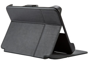 Speck - StyleFolio Flex Case fits most 7 to 8.5 Inch Tablets - Black and Slate Gray