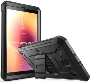 Supcase Galaxy Tab A 8.0 inch (2018) Unicorn Beetle Pro Rugged Case W/Kickstand (Black)