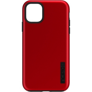 Incipio - DualPro Case for Apple iPhone 11 - Iridescent Red/Black