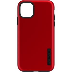 Incipio - DualPro Case for Apple iPhone 11 Pro - Iridescent Red/Black