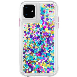 Case-Mate - Waterfall Case for iPhone 11 in Confetti