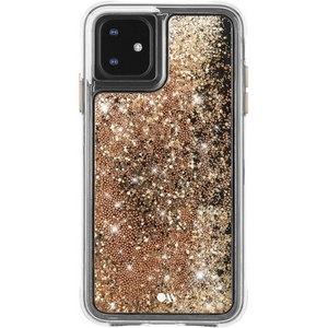 Case-Mate - Waterfall Case for iPhone 11 in Gold