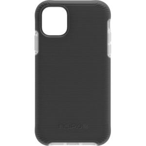 Incipio - Aerolite Case for iPhone 11 in Black/Clear