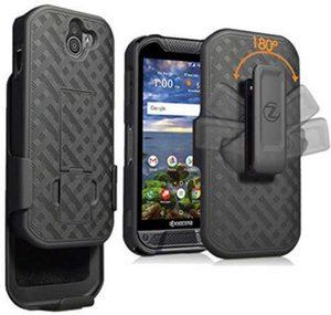 Premium Tough Rugged Armor Slim Protective Case w/Belt Clip for DuraForce PRO 2
