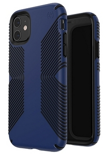 Speck - Presidio Grip Case for Apple iPhone 11 - Coastal Blue and Black