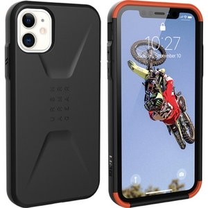 URBAN ARMOR GEAR - Civilian Case for iPhone 11 in Black