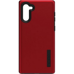 Incipio Technologies - DualPro Case for Galaxy Note10Plus in Iridescent Red/Black