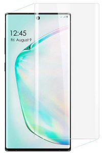 Premium FITTED TEMPERED GLASS Screen Protector for Samsung Galaxy Note 10 - Clear