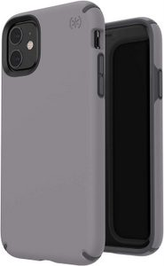 Speck - Presidio Pro Case for Apple iPhone 11 - Filigree Grey and Slate Grey