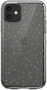 Speck - Presidio Clear for Apple iPhone 11 Pro Max - Gold Glitter