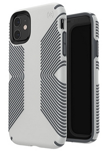 Speck - Presidio Grip Case for Apple iPhone 11 Pro Max - Marble Grey and Anthracite Grey