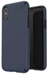 Speck - Presidio Pro Case for Apple iPhone XR - Eclipse Blue And Carbon Black