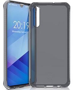 ITSKINS - Spectrum Clear Case for Samsung Galaxy A50 - Black