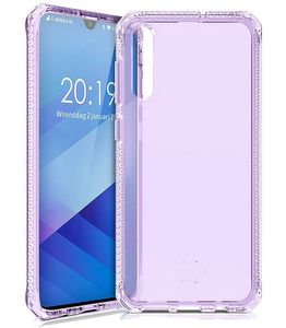 ITSKINS - Spectrum Clear Case for Samsung Galaxy A50 - Light Purple
