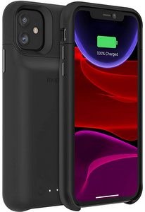 mophie - Juice Pack Access Power Bank Case 2,200 mAh for Apple iPhone 11 - Black
