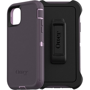 OtterBox DEFENDER Rugged Defender Screenless Edition Case w/Belt Clip for Apple iPhone 11 - Purple Nebula
