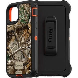 OtterBox DEFENDER Rugged Defender Screenless Edition Case w/Belt Clip for Apple iPhone 11 - Real Tree Edge