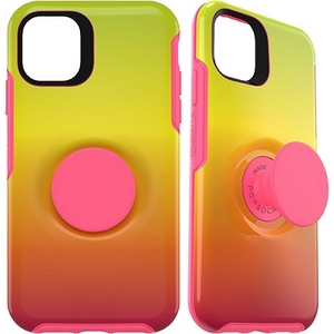 OtterBox Otter + Pop SYMMETRY Case with PopSockets Swappable PopGrip for Apple iPhone 11 - Island Ombre