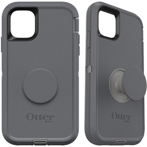 OtterBox Otter + Pop DEFENDER Case with PopSockets Swappable PopGrip for Apple iPhone 11 - Howler