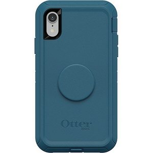 OtterBox Otter + Pop DEFENDER Case with PopSockets Swappable PopGrip for Apple iPhone XR - Winter Shade