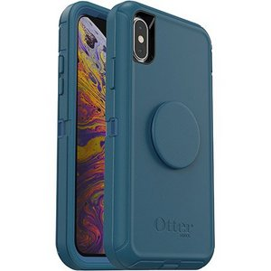 OtterBox Otter + Pop DEFENDER Case with PopSockets Swappable PopGrip for Apple iPhone X/XS - Winter Shade