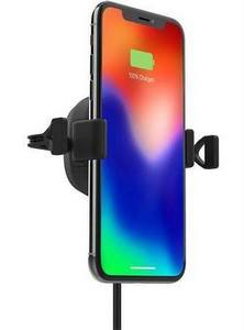 mophie - Charge Stream Wireless Charging Vent Mount 10W - Black